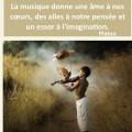 Citations _ Proverbes sur la musique - Atmosphère Citation